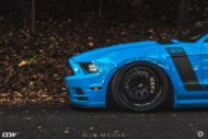 Shelby Ford Mustang GT500 CCW Felgen Tuning 18 190x127 Fotostory: Shelby Ford Mustang GT500 auf CCW Felgen