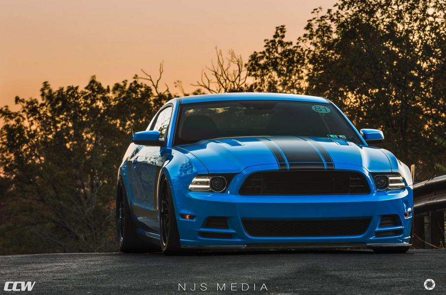 Shelby Ford Mustang GT500 CCW Felgen Tuning 2 Fotostory: Shelby Ford Mustang GT500 auf CCW Felgen