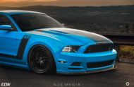 Shelby Ford Mustang GT500 CCW Felgen Tuning 8 190x123 Fotostory: Shelby Ford Mustang GT500 auf CCW Felgen