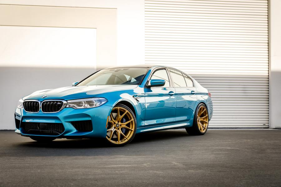 snapper rocks blue bmw m5 f90 on vorsteiner rims. Black Bedroom Furniture Sets. Home Design Ideas