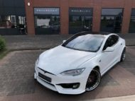 Tesla Model S Prior Widebody Tuning Klässen Wheels 5 190x143 Perfekt   Tesla Model S auf Klässen ID Wheels by Wheelclinic