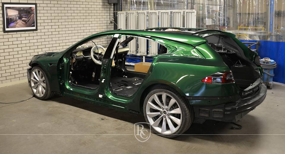 Tesla Model S Shooting Brake RemetzCar Tuning 5 Noch einer   Tesla Model S Shooting Brake by RemetzCar