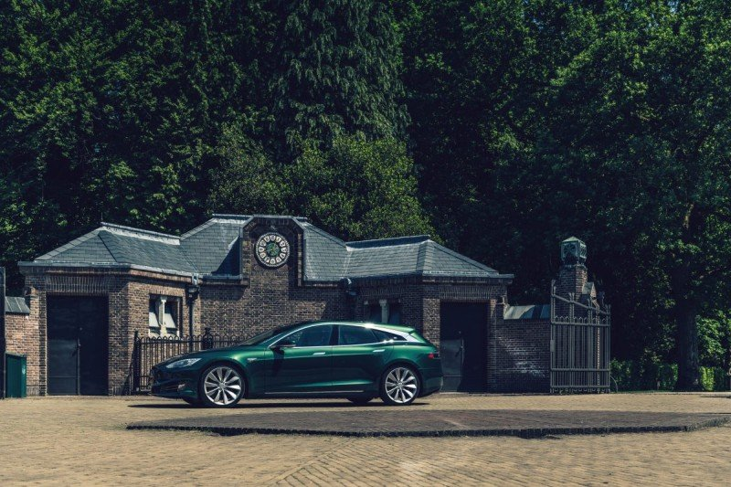 Tesla Model S Shooting Brake RemetzCar Tuning 6 Noch einer   Tesla Model S Shooting Brake by RemetzCar