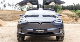 Tesla Model X Tuning Delta 4x4 3 310x165 Video: Kann man machen   Nissan Armada Mountain Patrol