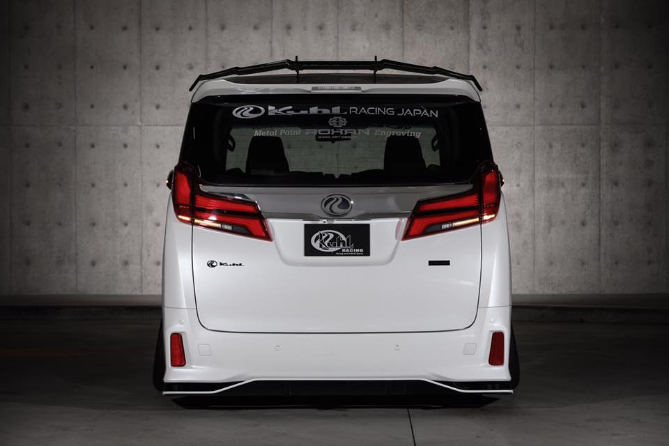Toyota Alphard Facelift Kuhl racing Bodykit Tuning 2018 8 Angepasst   Toyota Alphard Facelift mit Kuhl racing Bodykit