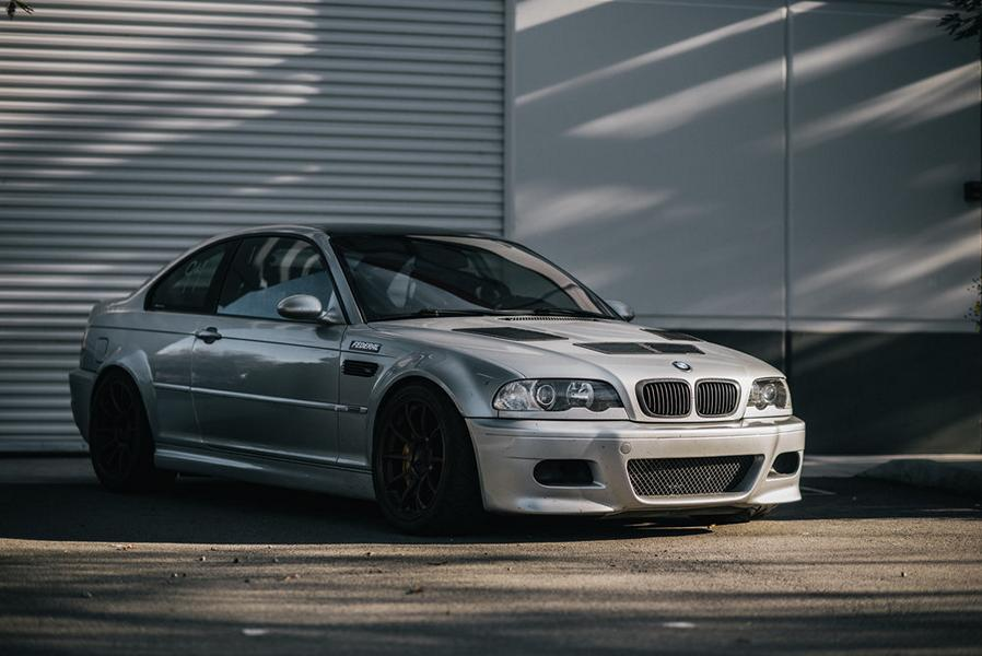 Track Monster BMW E46 M3 Coupe Tuning 1 Fotostory: Track Monster BMW E46 M3 Coupe von Alex