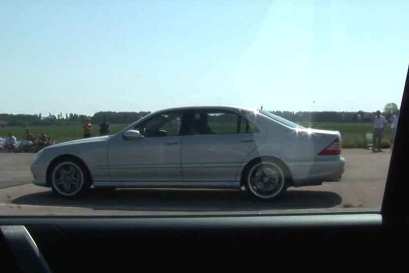 Tuning BMW E60 M5 vs. Mercedes S65 AMG W220 Video: Dragrace   Tuning BMW E60 M5 vs. Mercedes S65 AMG