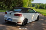 VW Golf R Convertible tuning peppered Kerscher TEC GT8 MTM 7 190x127 Summer 2018 VW Golf R Convertible from tuner tire SCHO