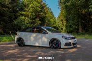 VW Golf R Convertible tuning peppered Kerscher TEC GT8 MTM 8 190x127 Summer 2018 VW Golf R Convertible from tuner tire SCHO