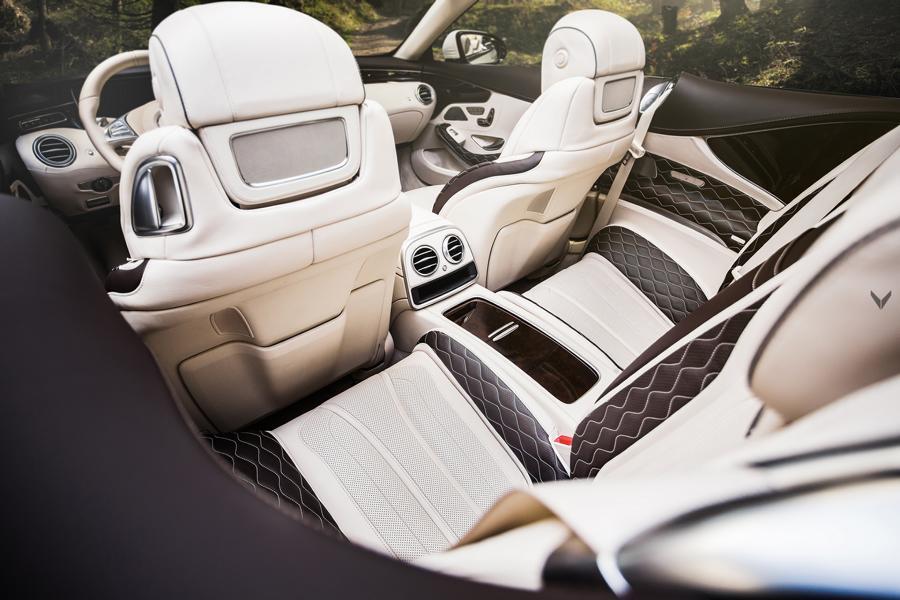 Vilner Tuning Mercedes A217 S63 AMG Interieur 6 Tuning im Interieur   welche Veredelungsmöglichkeiten gibt es?
