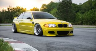 Widebody BMW E46 M3 CCW Wheels Phoenixgelb 12 310x165 Heftig   Widebody BMW E46 M3 auf CCW Wheels in Phoenixgelb