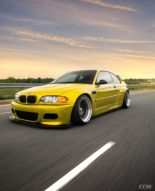 Widebody BMW E46 M3 CCW Wheels Phoenixgelb 3 155x191 Heftig   Widebody BMW E46 M3 auf CCW Wheels in Phoenixgelb