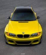 Widebody BMW E46 M3 CCW Wheels Phoenixgelb 5 155x185 Heftig   Widebody BMW E46 M3 auf CCW Wheels in Phoenixgelb