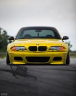 Widebody BMW E46 M3 CCW Wheels Phoenixgelb 7 155x195 Heftig   Widebody BMW E46 M3 auf CCW Wheels in Phoenixgelb