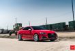 Top - 20 inch Vossen VFS 2 rims on the Audi S5 (B9) Coupe
