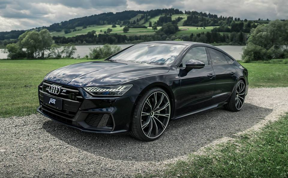 Dreamlike Audi A With Inch ABT Sportsline Rims - Audi a7 2018