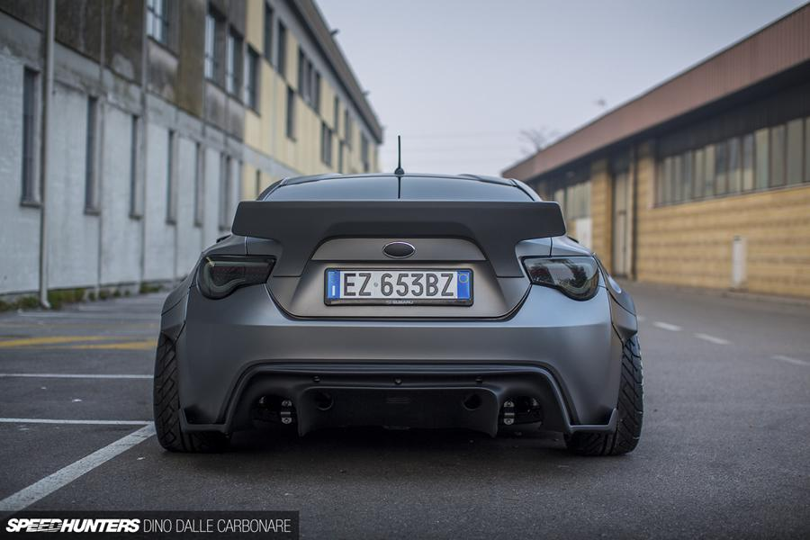 580 PS Widebody Subaru BRZ LS3 V8 Motor Tuning 8 Over the top Tuning im Subaru BRZ mit LS3 V8 Motor