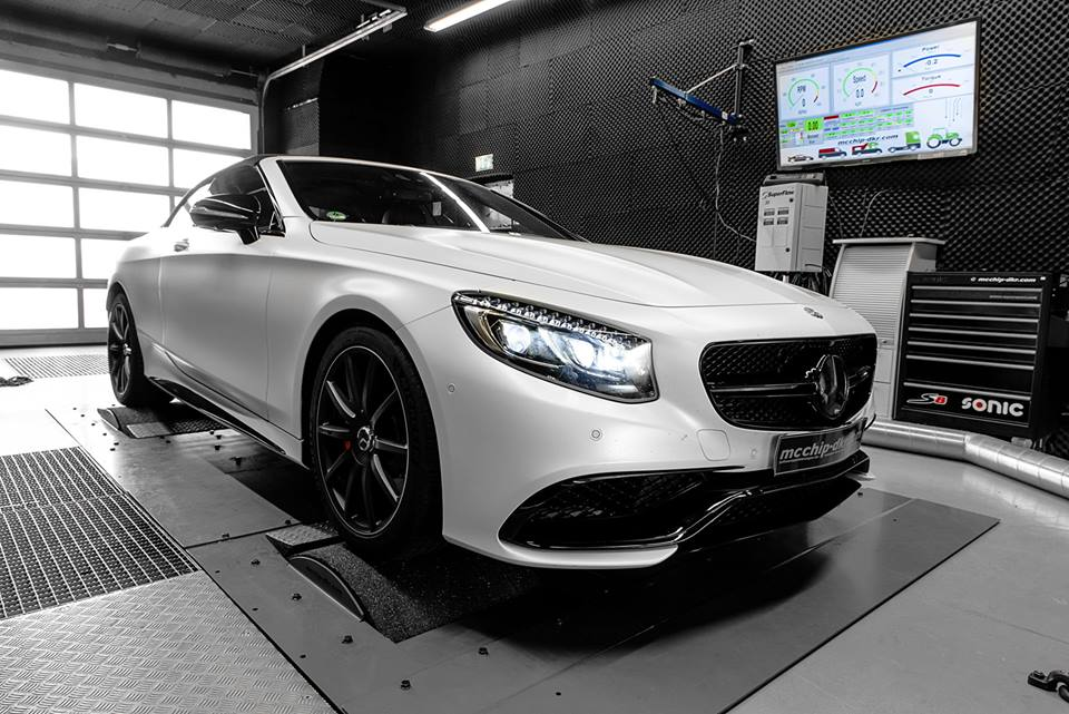 780 PS Mercedes Benz AMG S63 Chiptuning 2018 4 780 PS Mercedes Benz S Klasse AMG S63 by Mcchip DKR