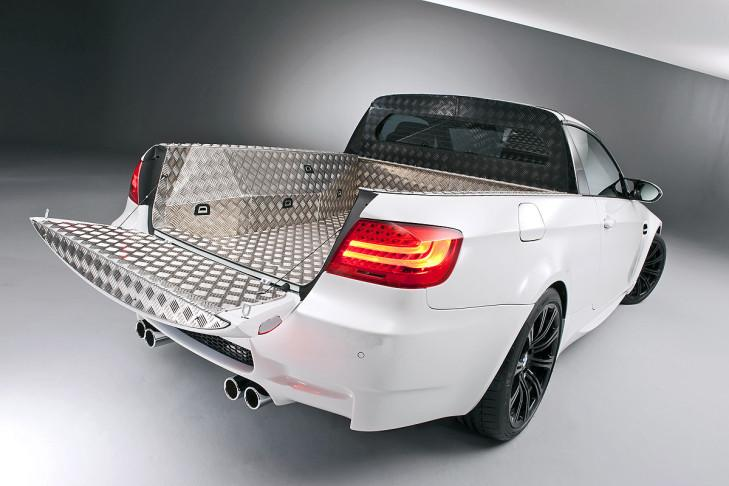 BMW E92 M3 Targa Pick up Tuning 1 Nie in Serie   BMW M Modelle der Vergangenheit