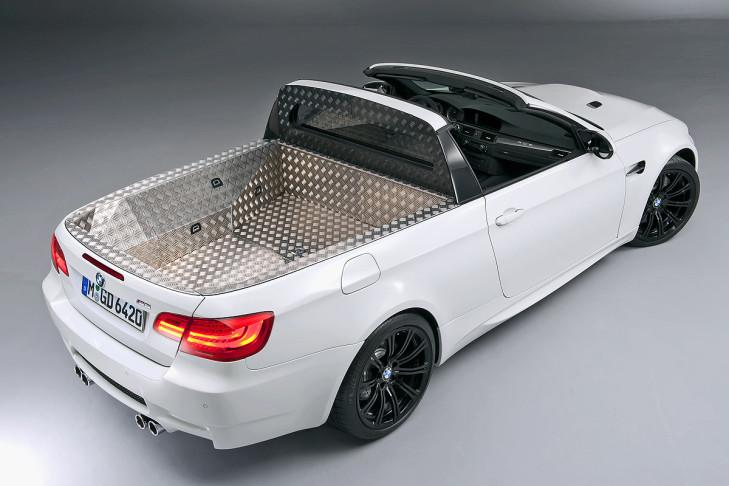 BMW E92 M3 Targa Pick up Tuning 4 Nie in Serie   BMW M Modelle der Vergangenheit