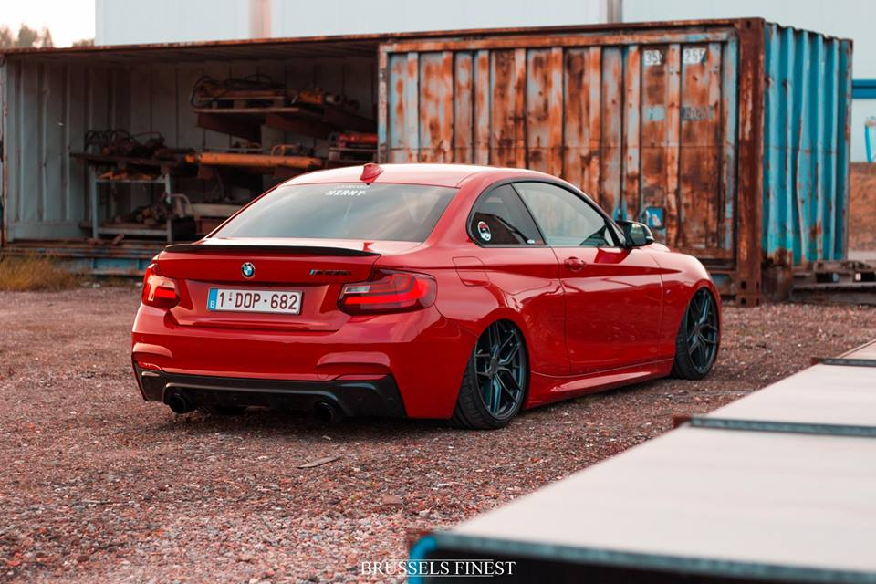 BMW F22 Airride Z Performance Tuning 1 Brutal tief   BMW F22 235i mit Airride & Z Performance Wheels