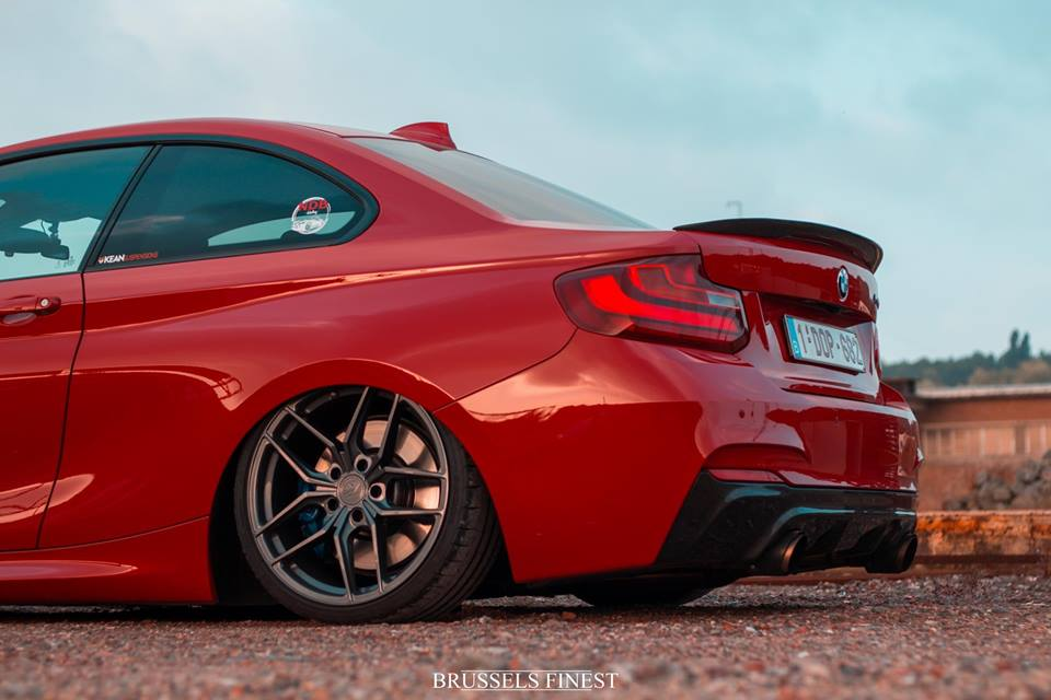 BMW F22 Airride Z Performance Tuning 4 Brutal tief   BMW F22 235i mit Airride & Z Performance Wheels