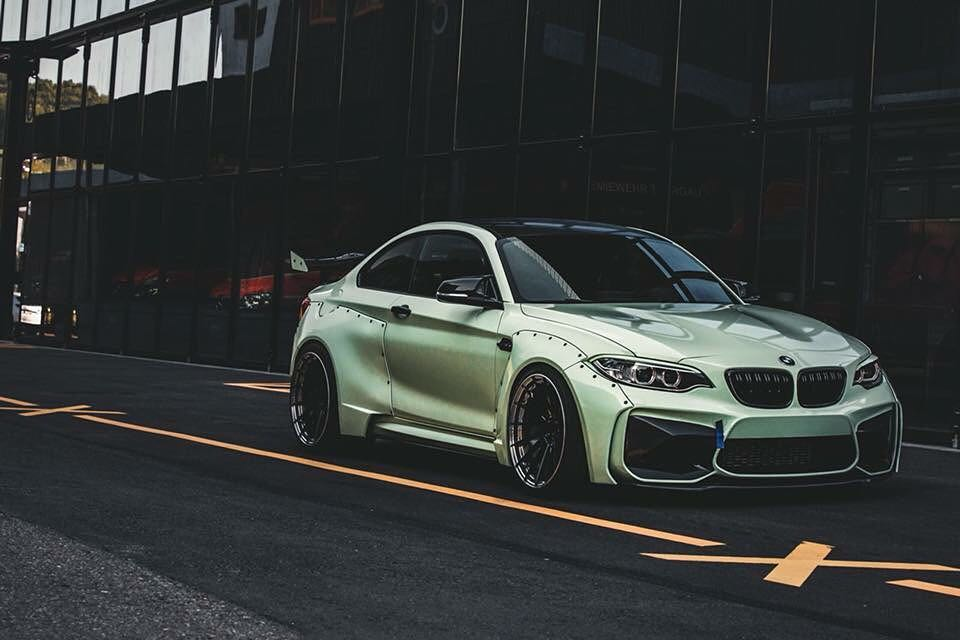 BMW F87 M2 Widebody Z Performance Wheels Tuning 13 Extrem   BMW F87 M2 Widebody auf Z Performance Wheels