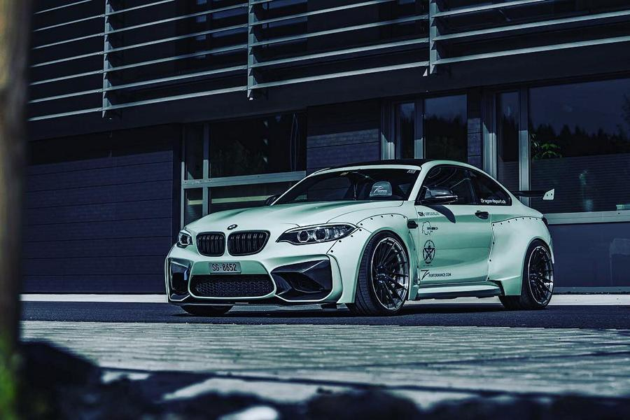BMW F87 M2 Widebody Z Performance Wheels Tuning 20 Extrem   BMW F87 M2 Widebody auf Z Performance Wheels