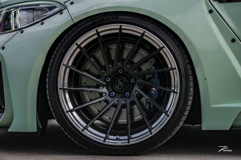 BMW F87 M2 Widebody Z Performance Wheels Tuning 21 Extrem   BMW F87 M2 Widebody auf Z Performance Wheels