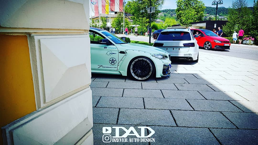 BMW F87 M2 Widebody Z Performance Wheels Tuning 3 Extrem   BMW F87 M2 Widebody auf Z Performance Wheels