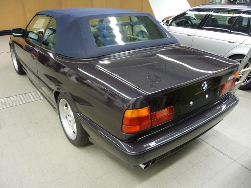 BMW M5 Cabrio E34 Einzelst%C3%BCck 4 Nie in Serie   BMW M Modelle der Vergangenheit