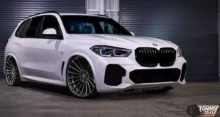 BMW XCMNUMX G5 Tuning Hamann 05 X2018M 5x310 X X model BMW XCMNUMX G165 with tuning by tuningblog