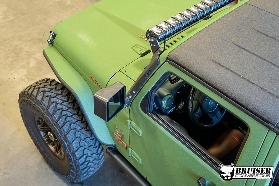 Bruiser Conversions 6x6 Jeep Wrangler Offroad Tuning JK 2017 4 Bruiser Conversions 6x6 Jeep Wrangler Offroad Monster