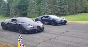 Bugatti Chiron vs. Veyron Supersport 310x165 Video: BMW X5M F85 vs. Porsche Panamera Turbo Sport Turismo
