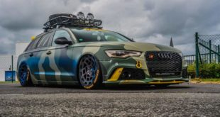Camouflage Audi A6 C7 Airride Radi8 Tuning 3 310x165 Video: Irre   580 PS Widebody Subaru BRZ mit LS3 V8 Motor