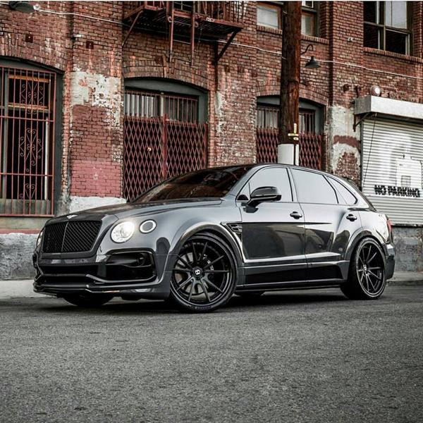 Grigio Telesto Startech widebody Bentley Bentayga tuning 10 Grigio Telesto at Startech widebody Bentley Bentayga