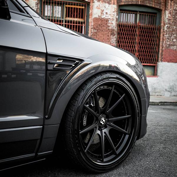 Grigio Telesto Startech Widebody Bentley Bentayga Tuning 2 Grigio Telesto am Startech Widebody Bentley Bentayga