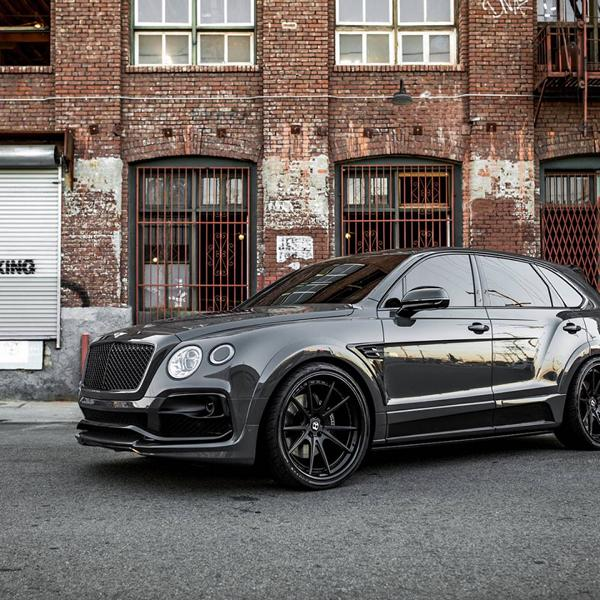 Grigio Telesto Startech Widebody Bentley Bentayga Tuning (5)