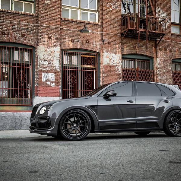 Grigio Telesto Startech widebody Bentley Bentayga tuning 6 Grigio Telesto at Startech widebody Bentley Bentayga