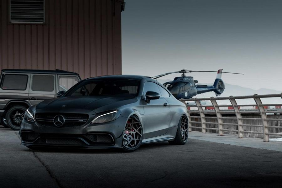 Mercedes AMG C63s Coup%C3%A9 ZP.Forged 15 Tuning Folierung 3 Bad Boy   Mercedes AMG C63s Coupé von Z Performance