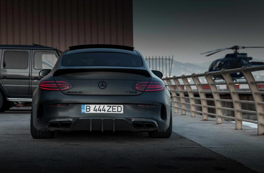 Mercedes AMG C63s Coup%C3%A9 ZP.Forged 15 Tuning Folierung 6 Bad Boy   Mercedes AMG C63s Coupé von Z Performance