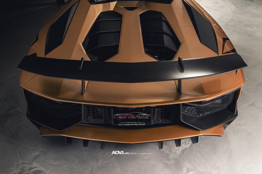 Novitec Lamborghini SV Roadster Mattgold ADV.1 Wheels 5.3 Tuning 33 Goldstich  Novitec Lamborghini SV Roadster auf ADV.1 Wheels