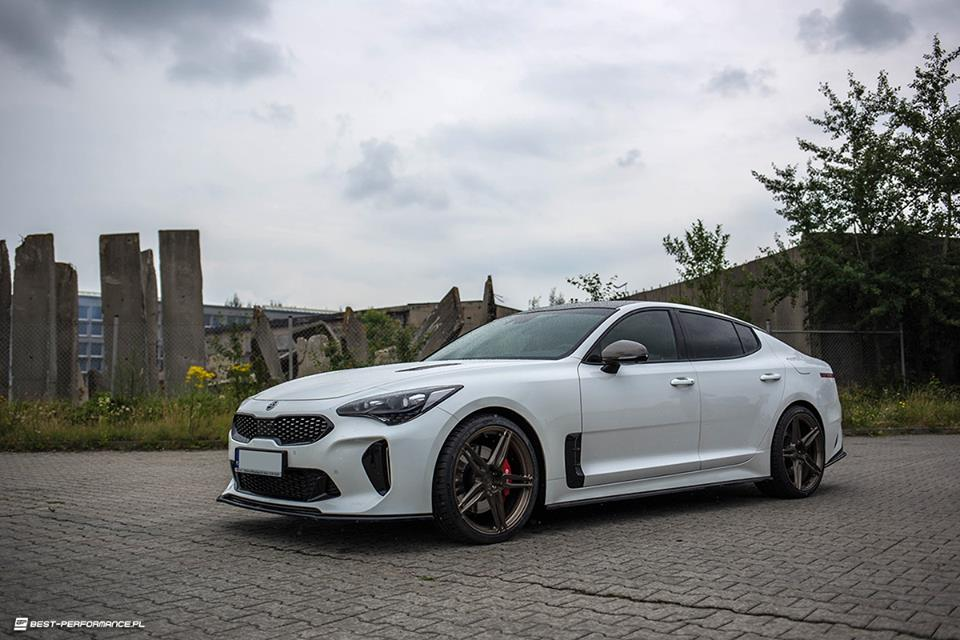 RaceChip KIA Stinger BC Forged EH175 Felgen Tuning 1 Die Alternative   414 PS KIA Stinger auf BC EH175 Felgen