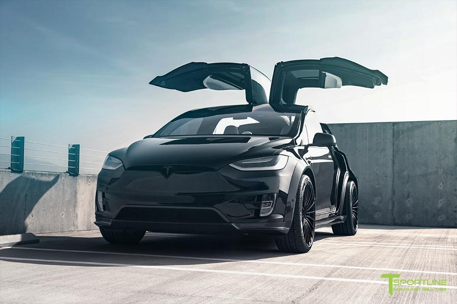 Tesla Model X P100D T Largo Limited Edition by T Sportline Tuning 2018 19 Tesla Model X P100D T Largo Limited Edition by T Sportline