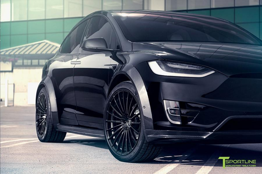 Tesla Model X P100D T Largo Limited Edition by T Sportline Tuning 2018 9 Tesla Model X P100D T Largo Limited Edition by T Sportline