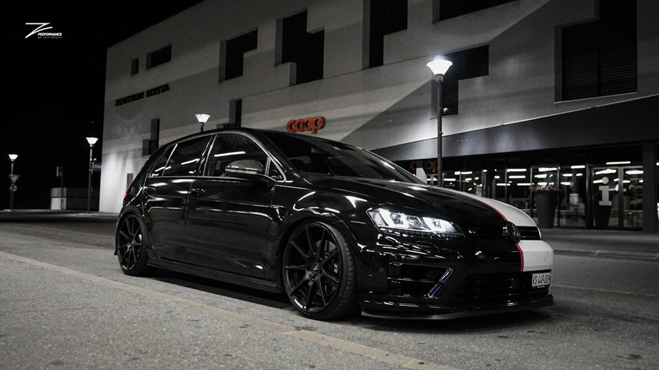 two face style on the vw golf r on z performance rims. Black Bedroom Furniture Sets. Home Design Ideas