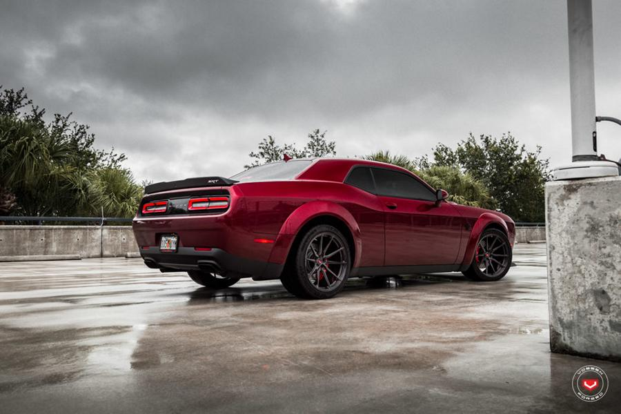 Vossen Forged M X2 Felgen Dodge Challenger Demon Tuning 18 Vossen Forged M X2 Felgen am Dodge Challenger Demon