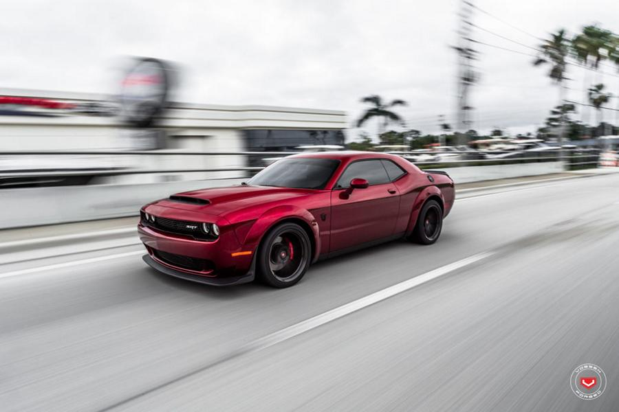 Vossen Forged M X2 Felgen Dodge Challenger Demon Tuning 6 Vossen Forged M X2 Felgen am Dodge Challenger Demon
