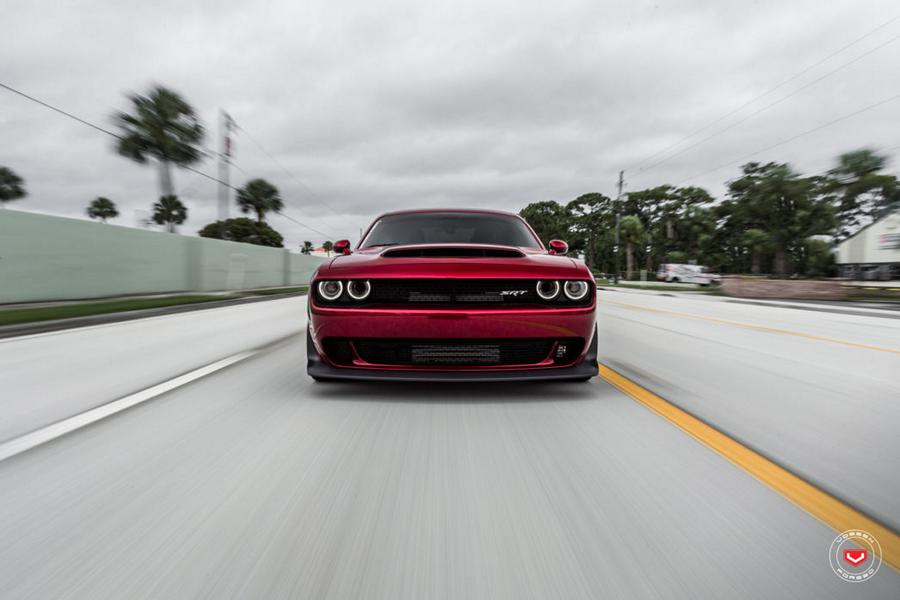 Vossen Forged M X2 Felgen Dodge Challenger Demon Tuning 8 Vossen Forged M X2 Felgen am Dodge Challenger Demon