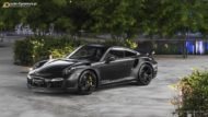 Vossen HC 3 Porsche 991 911 Tuning Turbo 11 190x107 The Dark Knight Returns   Porsche 911 jetzt auf Vossen Wheels